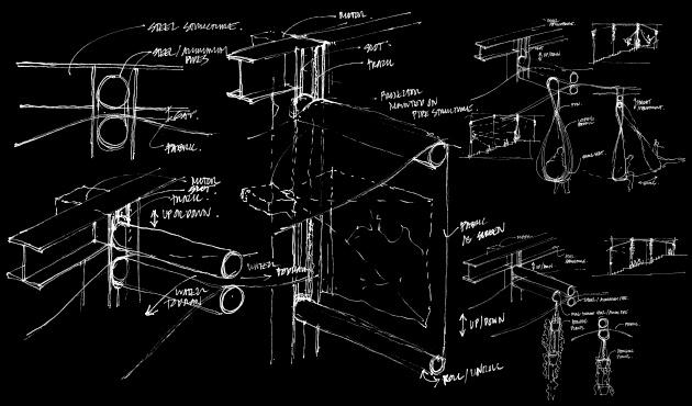 Urban Canopy Idea Sketches INVERT